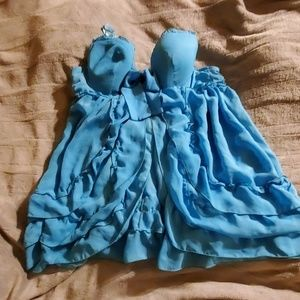 Turquoise teddy size 3xl